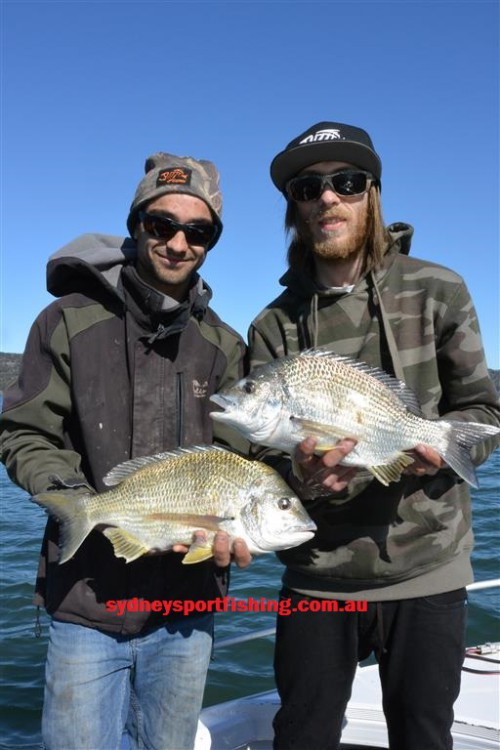 fishing charter bream