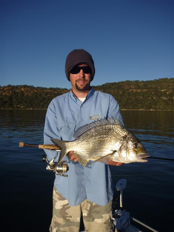 Winter in the estuary sydney sportsfishing for Big nose fish